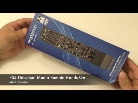 PS4 Universal Media Remote Hands On & Setup