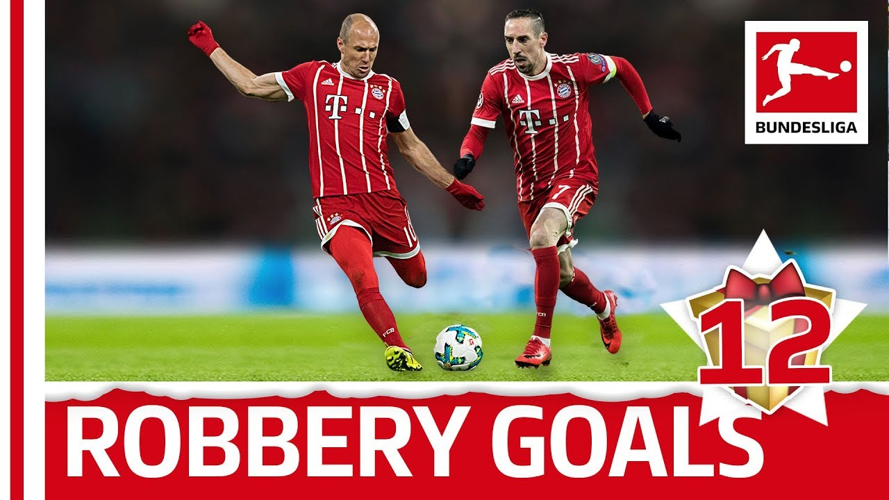 Robbery - Top 5 Goals - Bundesliga 2017 Advent Calendar 12