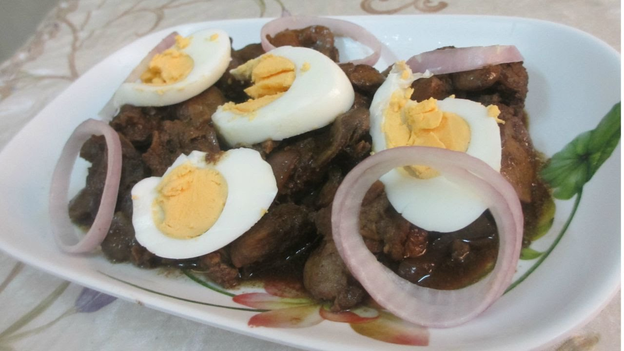 how to cook chicken liver and gizzard adobo