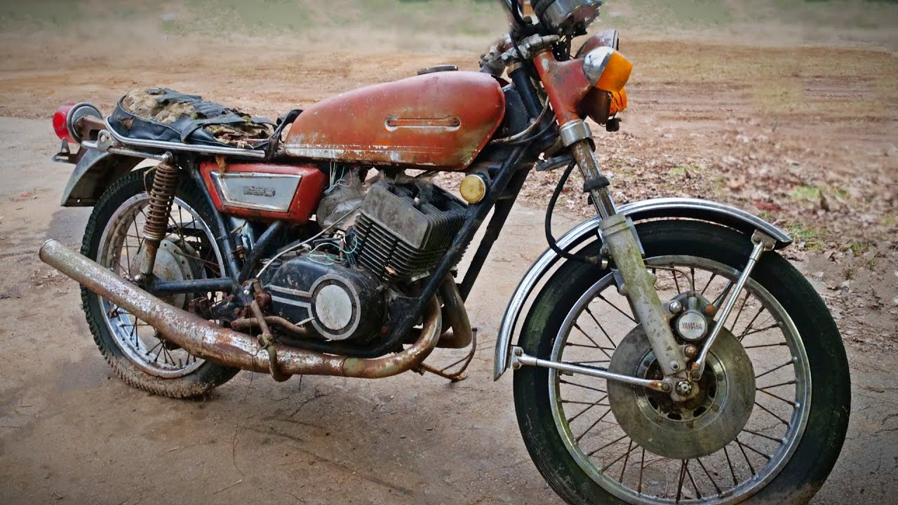 Cheap 1973 Yamaha RD 350 2 stroke!! Can I Restore IT?