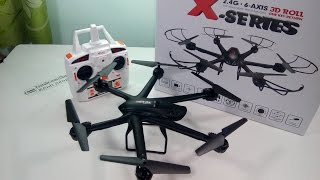 [Unboxing] MJX X600 3D Roll Stumbling Headless Mode RC Hexacopter