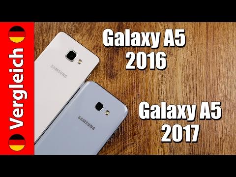 Samsung Galaxy A5 2016 oder A5 2017 | detaillierter Vergleich