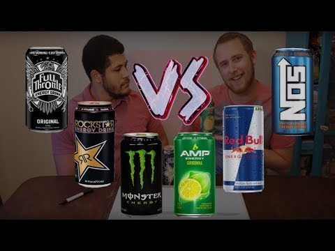 Best Energy Drink? (TASTE TEST)