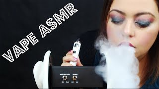 ASMR | CLOUD THERAPY| Vaping into Your Ears| 3Dio Whispers