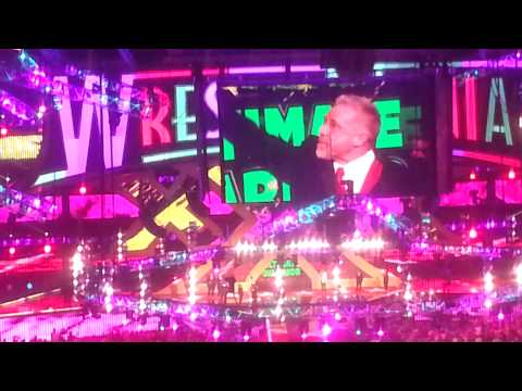 Ultimate WARRIOR'S FINAL INTRO LIVE AT WREST.XXX