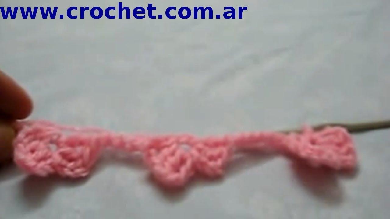 Punto MARGARITA (Parte 1) en tejido #crochet o ganchillo tutorial ...