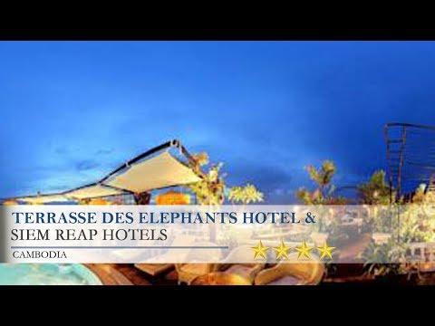 Terrasse Des Elephants Hotel & Restaurant - Siem ReapHotels,  Cambodia