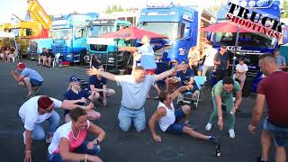 Party beim Truck Grand Prix, Müllenbachschleife, Nürburgring 2018