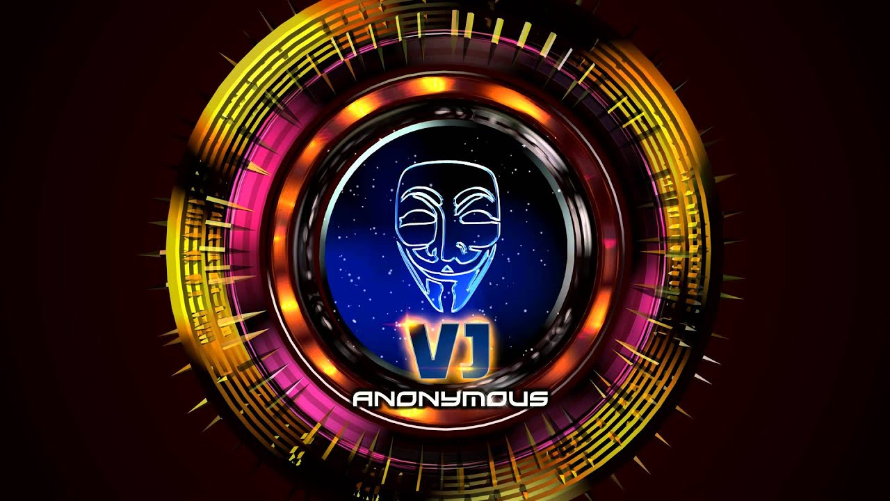 Vj Anonymous Logo Intro Design Supporters Of Aa Vfx Get More