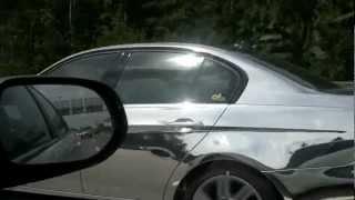 Хормированная БМВ на улицах Москвы | Chrome BMW in Moscow streets(, 2012-06-26T17:02:49.000Z)