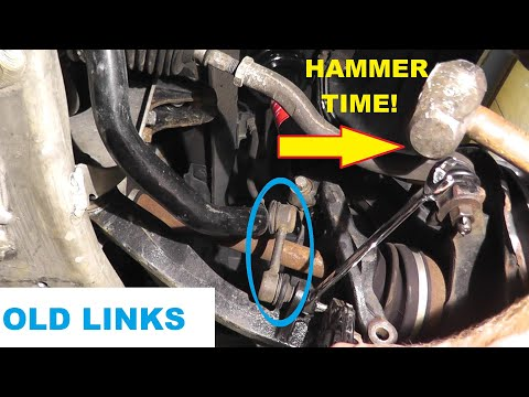 Acura Sway Bar Links or Stabilizer Links – How To Test and Replace with Basic Hand Tools