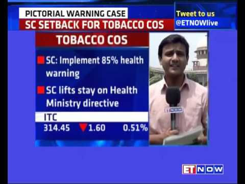 Tobacco Packets Must Have 85% Pictorial Warning Orders Supreme Court