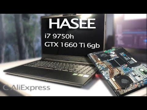 Полный обзор ноутбука Hasee Z7-CT7VH. Просто пушка за 60к/ Phleyd