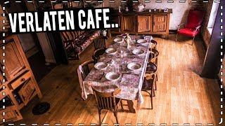 VERLATEN CAFÉ: volledig intact... de biertap doet het nog..