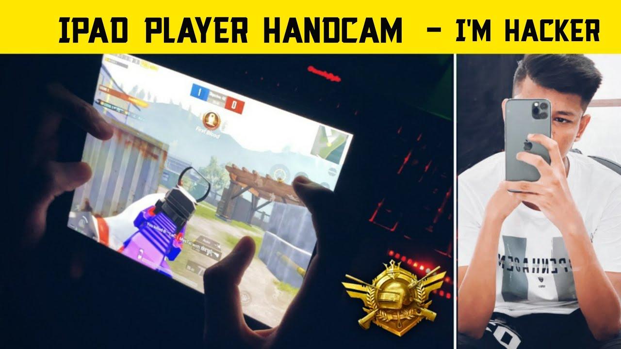 😤IPAD Player Handcam - Legend X Hacker - Pro Conqueror Player Gameplay - Pubg Mobile