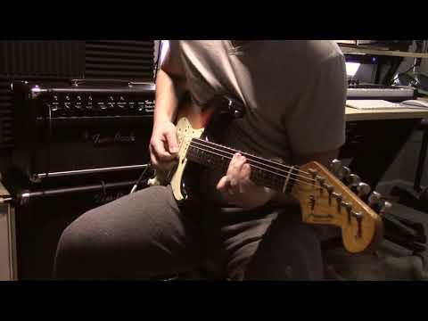 "Mark Foley Guitar Products ""Big Iron Low Wind"" pickups on Miranda 62 Strat - Blues Backing"