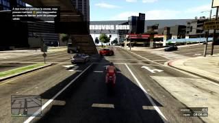 Ma pire course de moto sur GTA V