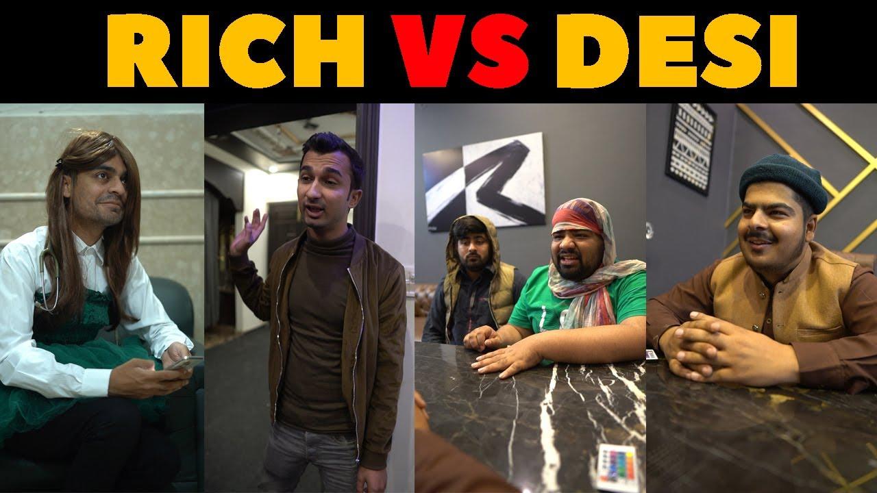 Rich Vs Desi Bloopers | Rich Nurse Vs Desi Nurse | Rich Parents Vs Desi Parents | Waleed Wakar | WT