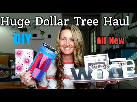 Extra Large Dollar Tree & DIY Ideas | May 17