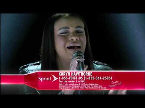 Hát live cực chất - Make It Rain - Koryn Hawthorne - Top 10 The Voice 2015