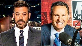 Jimmy Kimmel Demolishes Brainless Fox Host, Calls Him 'Phony Little Creep'
