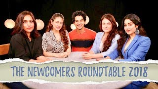The Newcomers Roundtable 2018 With Rajeev Masand