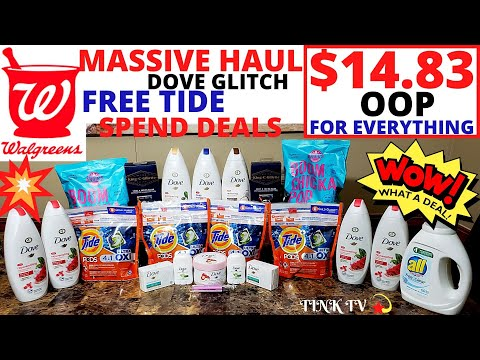 💥WHAT HAPPENED IN WALGREENS TODAY?!😱MASSIVE WALGREENS COUPONING HAUL💥FREEBIES,GLITCHES,& SPEND DEALS
