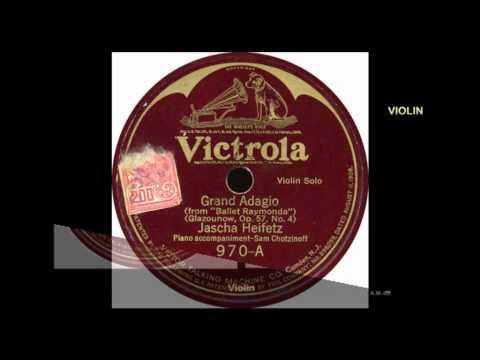 VICTROLA  Violin - Jasha Heifetz.  Two songs 970 A,B   VTS_01_1.VOB
