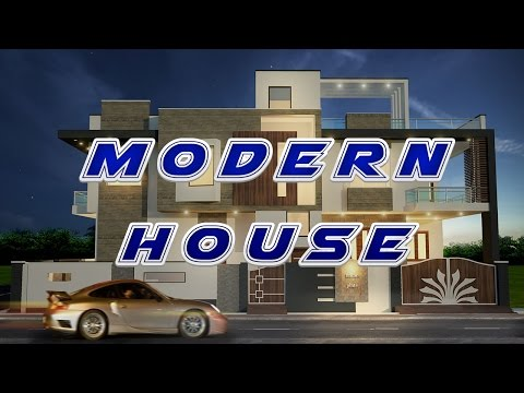 3D Modern House Art Collective Animaton |Sketchup,Lumion,PS,AfterEffects|