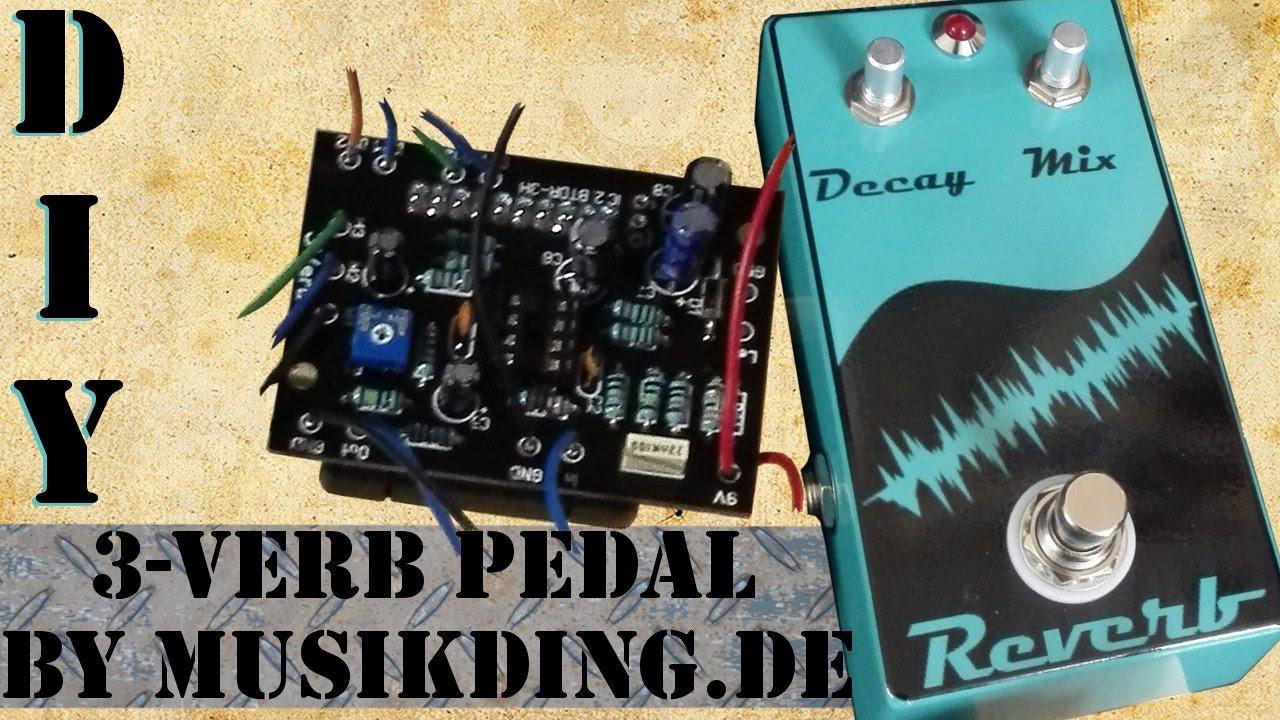 diy reverb pedal build der 3verb by youtube. Black Bedroom Furniture Sets. Home Design Ideas