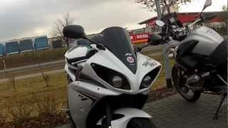 Yamaha R1 RN04 and RN22 Little Saturday ride