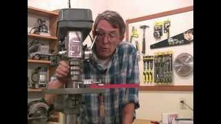 Testing Drill Press Run-out And Table Squaring