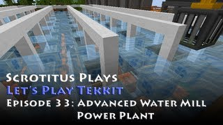 Let's Play Tekkit - Episode 33 - Advanced Water Mill Power Plant