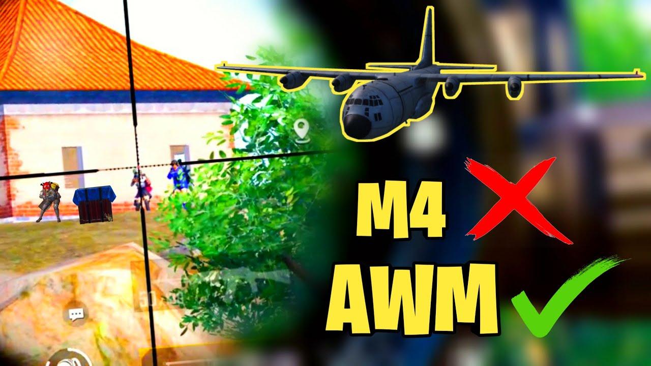 NEVER DO THIS MISTAKE AGAINST AWM PLAYERS | M416 VS AWM | FAROFF PUBG MOBILE