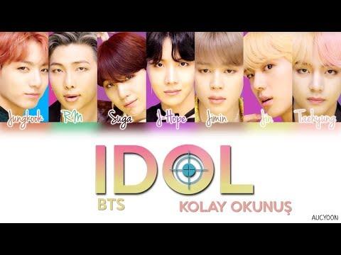 BTS - IDOL (KOLAY OKUNUŞ)