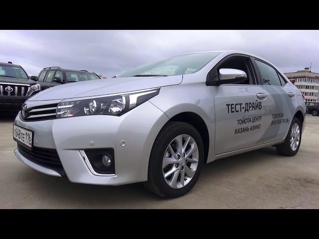 2015 Toyota Corolla. Обзор (интерьер, экстерьер, двигатель).