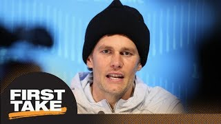 First Take reacts to how Tom Brady handled WEEI host criticism of daughter | First Take | ESPN