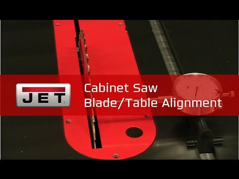 Cabinet Saw Blade / Table Alignment | #TipTuesday