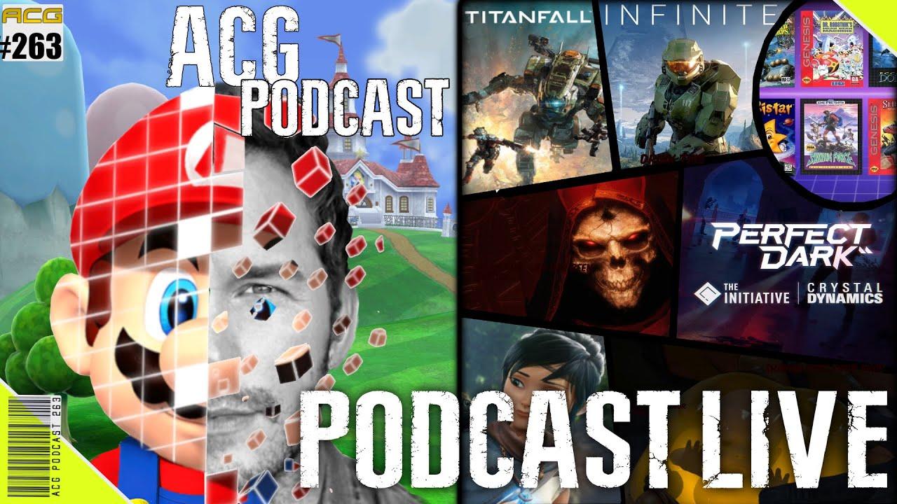 Download News, Perfect Dark, Nintendo Loves Sega, Mario the Movie, Kena, Rumors, and moreACG Podcast #263