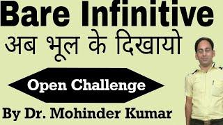 Non-finite| Infinitive| Bare Infinitive| ctms family