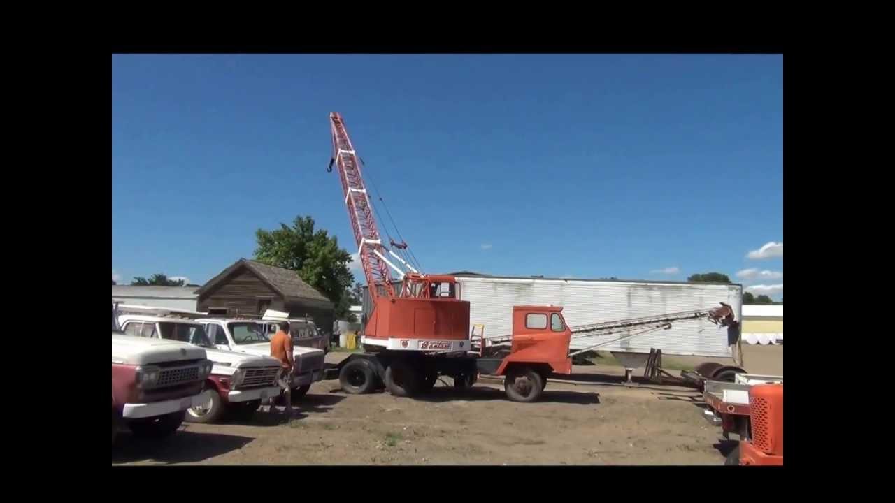 Crane Truck For Sale >> 1964 Bantam Schield crane truck for sale   sold at auction ...