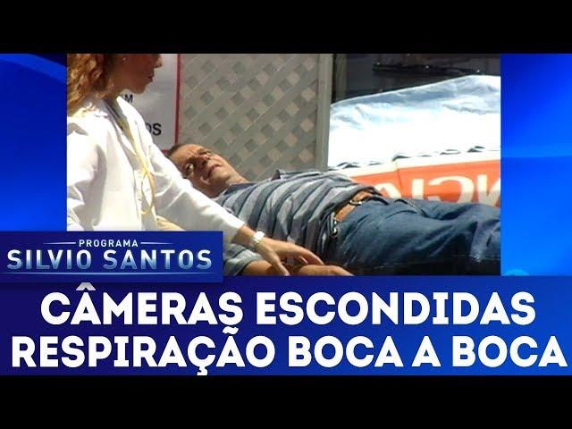 Respiração Boca a Boca | Câmeras Escondidas (27/01/19)