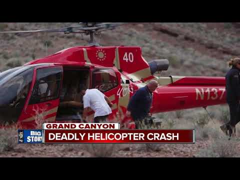 Three killed in Grand Canyon helicopter crash