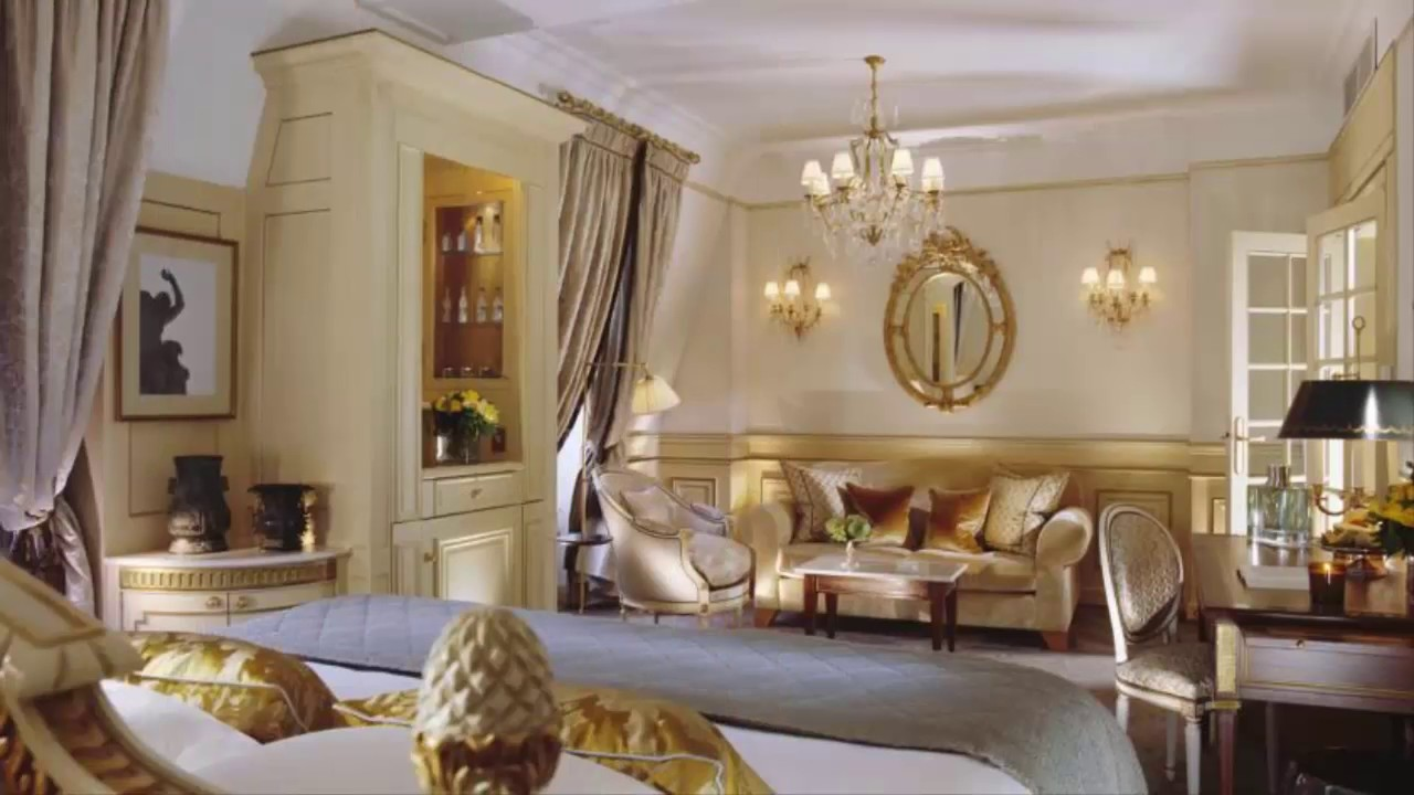 Le Meurice 5 Star Hotels In Paris Paris Hotels Youtube