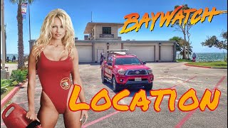 Baywatch tv show location in Malibu California  and pamela andersons house