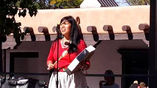 INDIGENOUS PEOPLES DAY 2019 - SANTA FE, NM Christina Castro -  Love Song