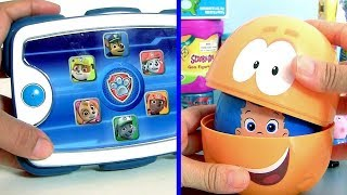Stacking Cups Nesting Toys Surprise Paw Patrol BUBBLE GUPPIES