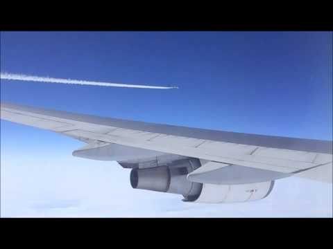Close Air to Air view of Jet at High Altitude : What's the other Plane ?