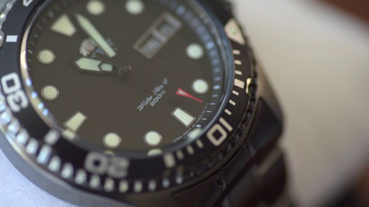 Orient Ray Raven 2 Watch Unboxing And First Impressions Youtube