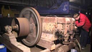 Deutz MIHZ 436 Stationärmotor mit Druckluft Start / Deutz stationary engine pressed air start up